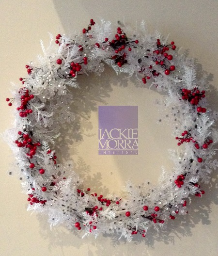 Icy Wreath After Jackie Morra Interiors
