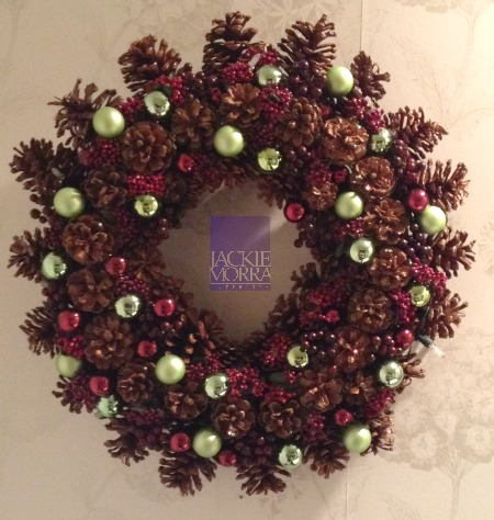 Pine Cone Wreath Natural After Jackie Morra Interiors