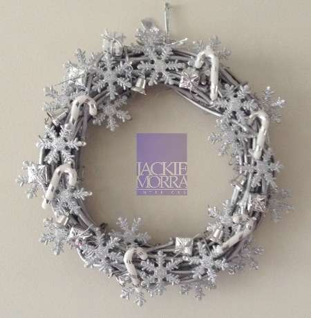 Silver Wreath After Jackie Morra Interiors