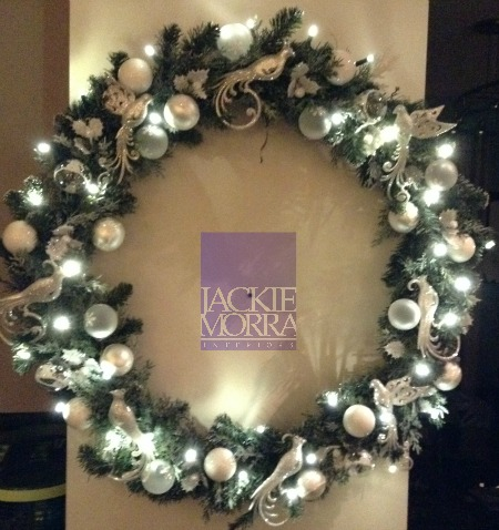 Winter White Wreath After Jackie Morra Interiors