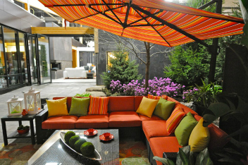 Outdoor Oasis Space